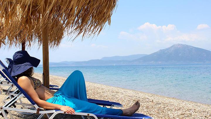 Παραλία Aenaon κανατάδια Ιστιαία Ευβοίας