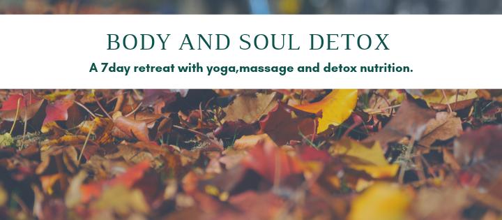 Φθινοπωρινό 7ήμερο:Βody and Soul Detox
